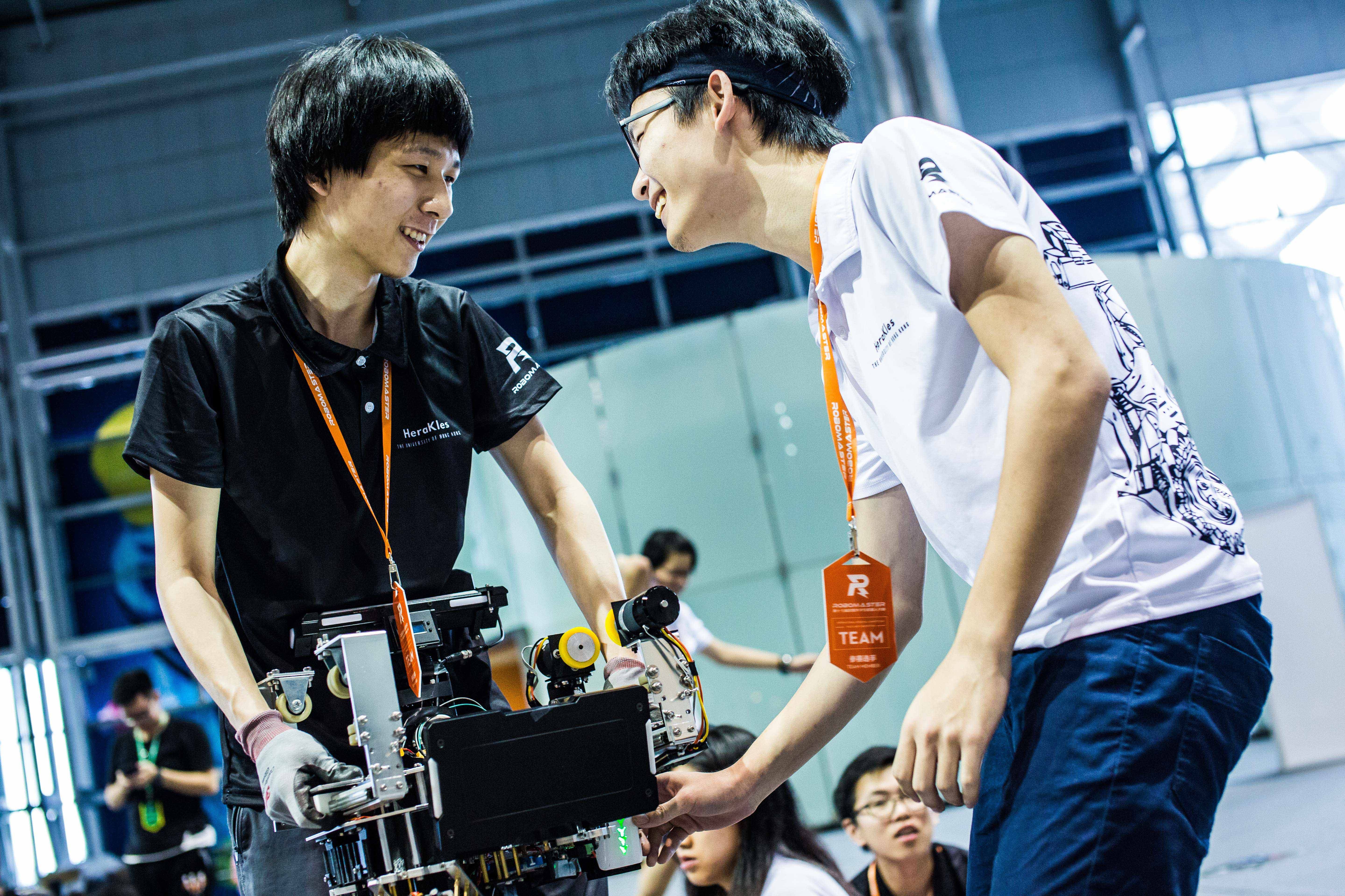 Robomaster 2019 hosted in the Computer Science department, supervised by Dr. Kenneth Wong (CS)