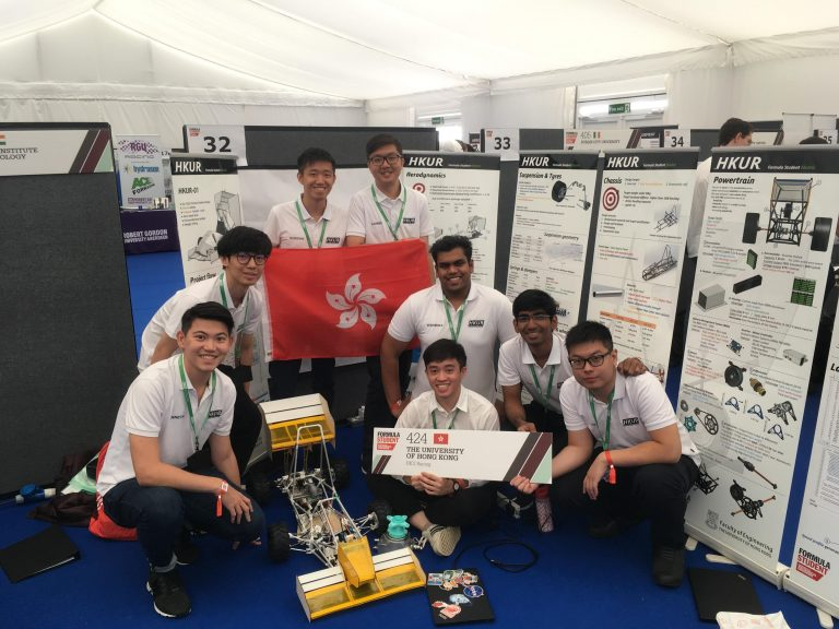 HKU Racing 2019 hosted in the Electrical and Electronic Engineering department, supervised by Dr. C.K. Lee (EEE)