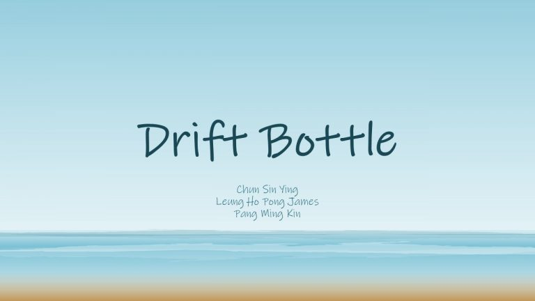 Drift Bottle - InnoShow